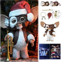 18cm Original NECA New Movie Gremlins Christmas Edition Gremlins Action Figure Model Toys Doll For Gift
