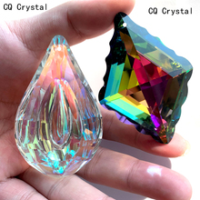 Chandelier-Parts Suncatcher Crystals Hanging Feng Shui Home DIY 76mm Prism Wedding-Decor-Accessories
