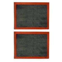Силиконовый антипригарный коврик для выпечки 30 х40 см 2 шт
