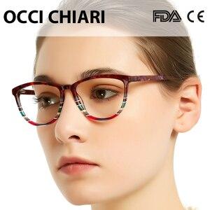 Image 2 - OCCI CHIARI איטליה עיצוב משקפיים נשים מסגרת משקפי מסגרת משקפיים Oculos סהרוני Gafas דמי צבע מתנה W CORSO