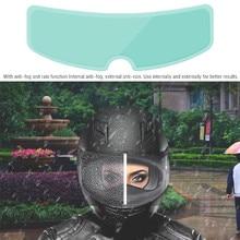 aep 1pcs helmet clear pinlock anti fog patch motorcycle full face generic for k3 k4 ls2 hjc marushin helmets lens anti fog visor 1 Pcs Universal Clear Pinlock Rainproof Anti-fog Patch Visor Lens Helmet Film For K3 K4 AX8 LS2 HJC Helmets Motorcycle Motocross