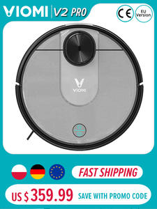 [In Stock] Original VIOMI V2 Pro 2100Pa Strong Suction Self-charging Robot Vacuum Cleaner