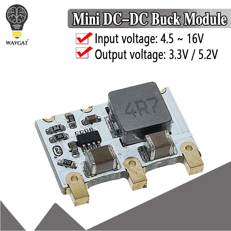 4A мини DC-DC понижающий преобразователь 6V-16V 9V 12V 5V 3,3 V понижающий Мощность Напряжение регулятор эффективность модуля 98%