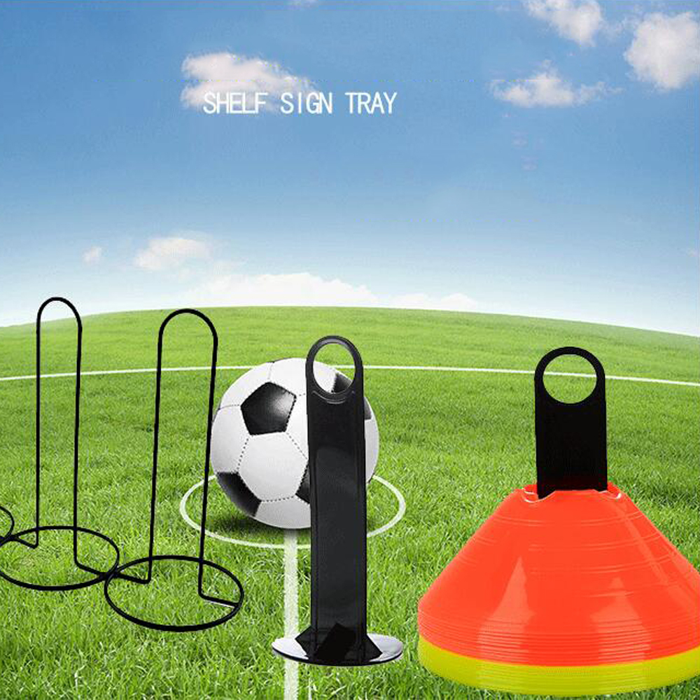 Soccer Football Accessories Plastic Handy Soccer Drill Agility Training Marker Disc Cone Holder Carrier Caddy Sport Wholesale