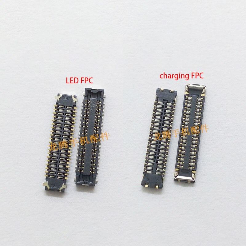 LCD Display FPC Connector Plug MotherBoard Pin USB Charging Flex FPC Pin For Huawei Nova 3 Nova 3i P20 Lite
