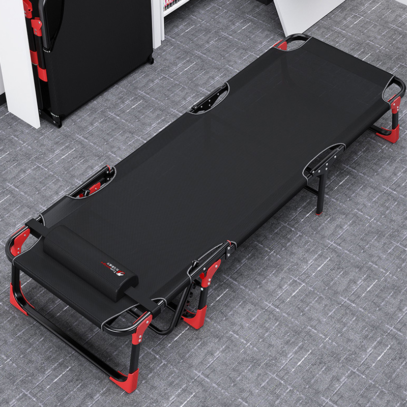Folding Bed Single Bed Siesta Home Simple Lunch Bed Accompanying Portable Multi-function Camp Bed Office Recliner