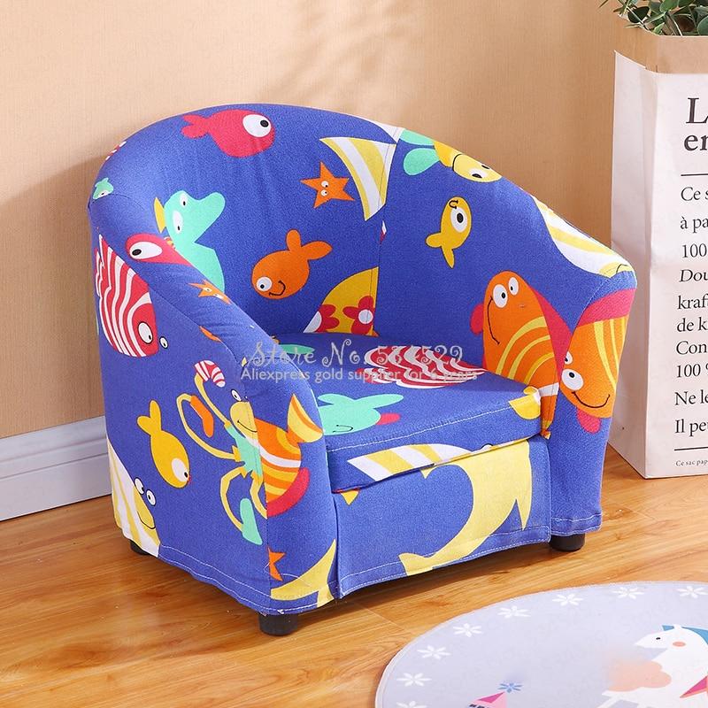 30%B Children's Sofa Cartoon Girl Princess Single Kindergarten Seat Cartoon Washable Cloth Cute Baby Small Sofa Children's Gift