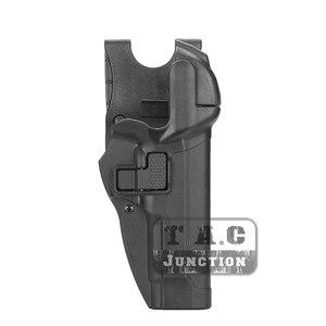 Image 5 - Тактическая кобура для пистолета Beretta 92 96 M9, удерживающая кобура для уровня 3, с автоматической блокировкой, для правой руки, для страйкбола