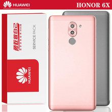 Original Repair Parts Back Housing for HUAWEI Honor 6X Back Cover Battery Glass with Camera Lens adhesive Sticker