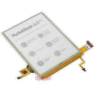 Оригинальный ЖК-дисплей Yqwsyxl ED060XH7, 6 дюймов, eink carta 2, с подсветкой и сенсорным экраном для PocketBook touch Lux 3 PB626(2)-D-WW