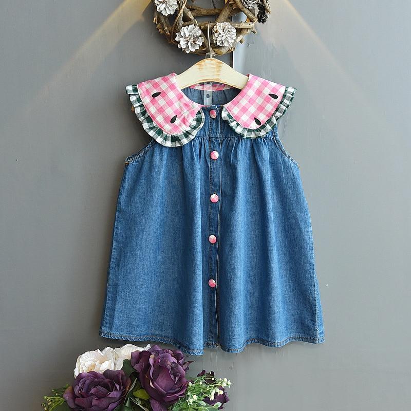 2020 New Kids Clothes Dresses For Girls Fashion Wedding Dress Girl Princess Dress Children's Wear Party Star Dress 6