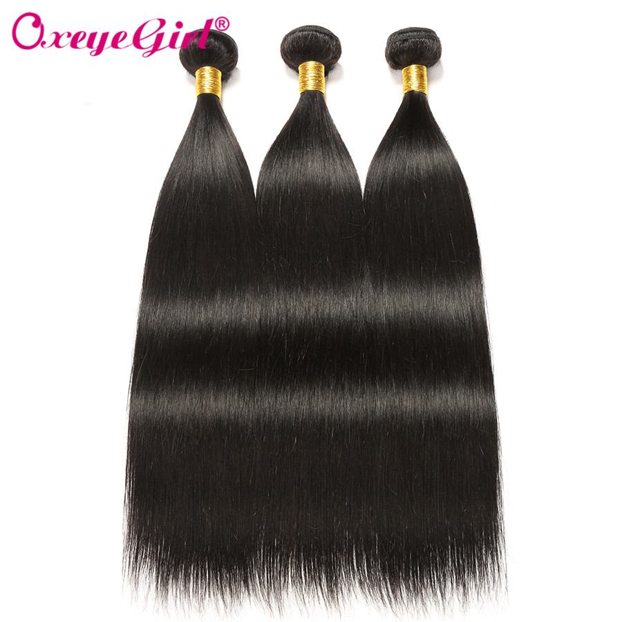 H3f7efcc975ce4074a8d6b1e676b04a92e Straight Hair Bundles With Frontal Peruvian Hair Lace Frontal With Bundles 3 Human Hair Bundles With Closure Oxeye girl Non Remy