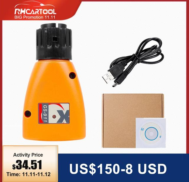2020 OBD2 diagnostic tool GS 911 V1006.3 Emergency Professional Diagnostic Tool For BMW Motorcycles GS911 with facotry price