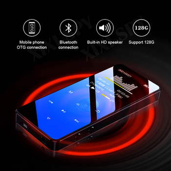 Bluetooth 5.0 mp3 player music hifi media flac voice audio player Built-in speaker recorder with