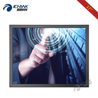 B170TC ABHUV/171280x1024 HDMI Metal Case Industrial Touch Monitor/17 inch Steel Shell LCD Four Wire Resistance Touch LCD Screen