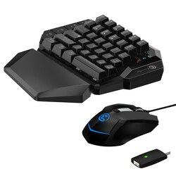 GameSir VX с одной рукой 2,4G Беспроводная Bluetooth игровая клавиатура с регулируемым dpi Проводная мышь для Xbox/PS3/PS4/Switch/PC