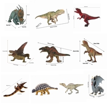New Jurassic Mosasauru Dinosaur toy Soft PVC Action Figure Hand Painted Animal Model Collection Dinosaur Toys For Children gifts large size classic dinosaur toy triceratops soft animal model collection for boys action