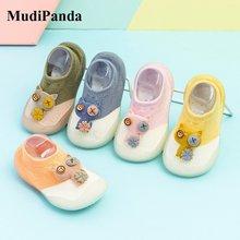 Mudipanda 2021 детские носки для малышей; Милая детская Нескользящие