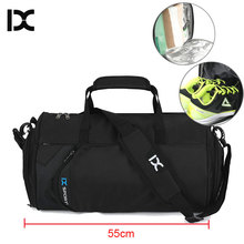 Большая сумка для тренажерного зала IX Plus XL, сумки для фитнеса для влажных и сухих тренировок, женские и мужские сумки для йоги, спортивные сумки для обуви 2019, дорожные сумки XA23WA