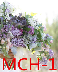 Accessoires de mariée de mariage tenant des fleurs 3303 MCH