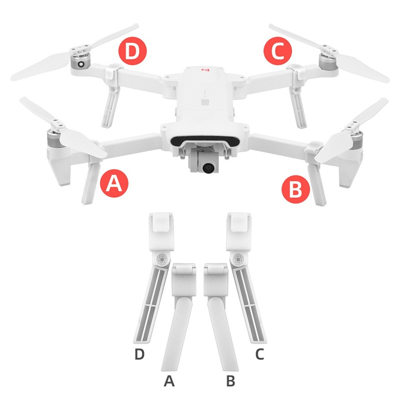 Professional High-quality Durable Drone Camera Landing Gear Extended Tripod Heig Memory Card