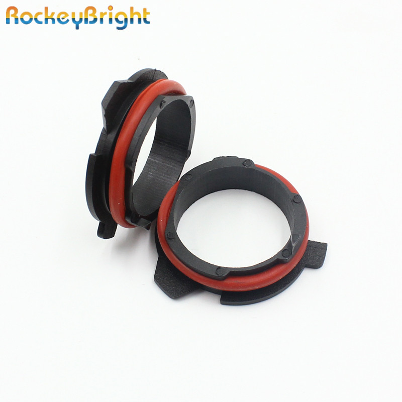 Rockeybright H7 Led Headlight Clip For BMW 5 Series E39 E60 E61 F10 F11 F07 F85 G30 G31 G38 H7 Led Socket Adapter H7 Bulb Holder
