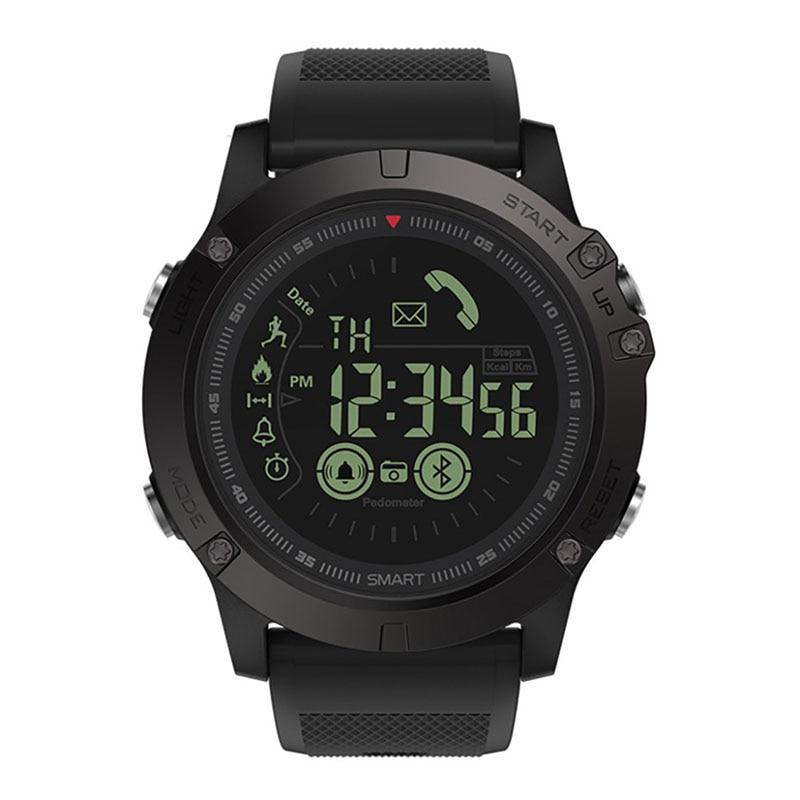 2020 Unisex Quartz Wristwatch  Bluetooth 4.0 IP67 Waterproof Multi-functional Smartwatch Fitness Monitor Passometer Alarm Clock