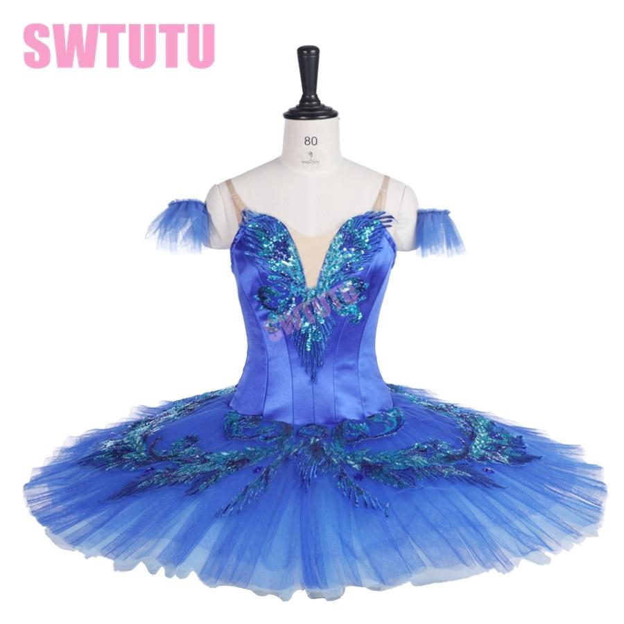 women bluebird professional stage costumes tutu performance dance child classical ballet BT9236