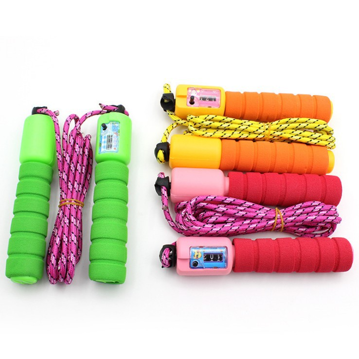 Profession Men And Women Sports Belt Count Jump Rope Sub-Students Weight/Speed Fitness Jump Rope Weaving Jump Rope