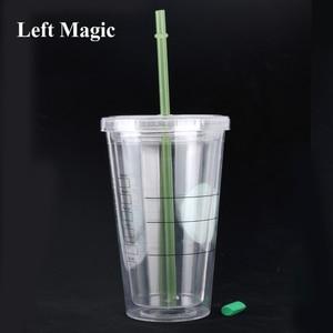 Coffee to Go Magic Tricks Liquid Disappear Magica Magician Close Up Bar Illusions Gimmick Prop Mentalism Comedy trucos de magia(China)