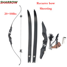 60 Inch Archery Recurve Bow Set 20-50Ibs For Outdoor Hunting Shooting Accessories