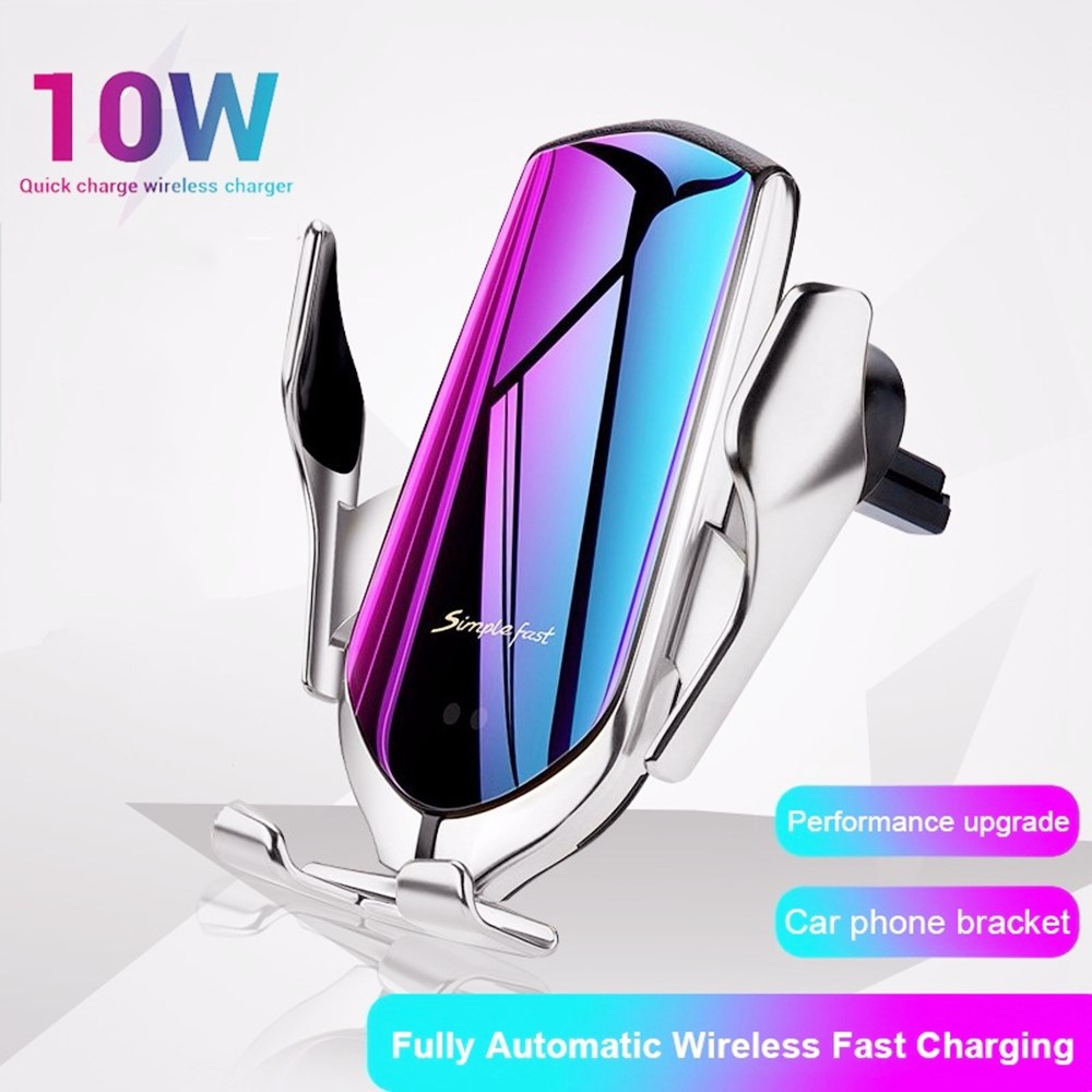 Gravity Phone Car Holder Wireless Charger For IPhone 11 Mobile Phone Car Charger Stand Support Fast Charging Car Phone Holder