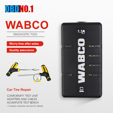 WABCO عدة تشخيص (WDI) مقطورة وشاحنة نظام التشخيص المهني WABCO الثقيلة شاحنة الماسح الضوئي اللغة الإنجليزية التركية