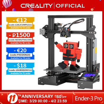 CREALITY 3D Ender-3 Pro Printer Printing Masks Magnetic Build Plate Resume Power Failure Printing KIT Mean Well Power Supply 1