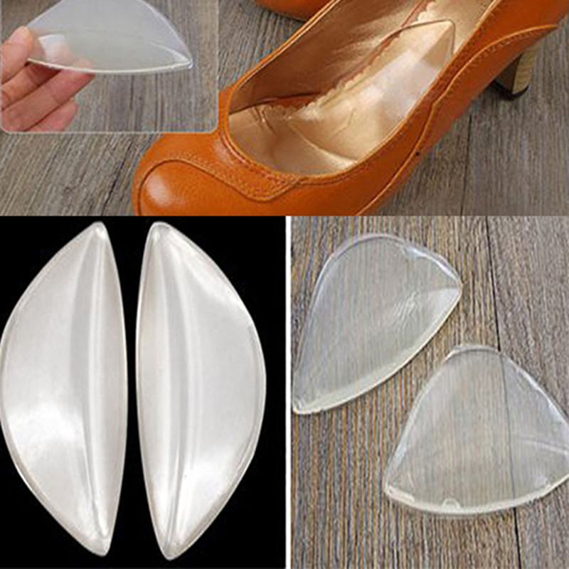 Silicone Gel Pain Relief Arch Support Shoe Inserts Foot Insole Wedge Cushion Pads Soft Insert Feet Care Accessories Palmilha