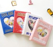 Cartoon Album Holds 64 Mini Photos Instax Album Photo Album for Mini Fuji Instax   Name Card 7s 8 25 50s Mini Photo Album