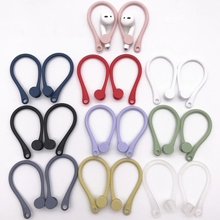 Earphone Protector Earhooks Airpods-Case Silicone Anti-Lost Apple Wireless for Sports