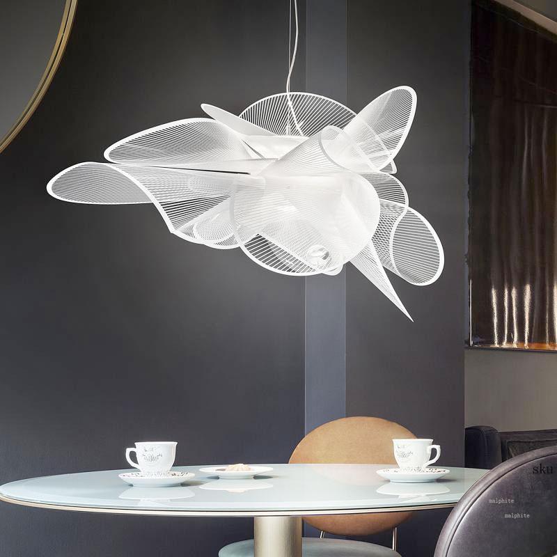 Nordic Slamp LED Anhänger Leuchtet Moderne Wohnzimmer Schlafzimmer Hanglamp Mesh Garn Anhänger Lampe Innen Industrielle Decor Leuchte
