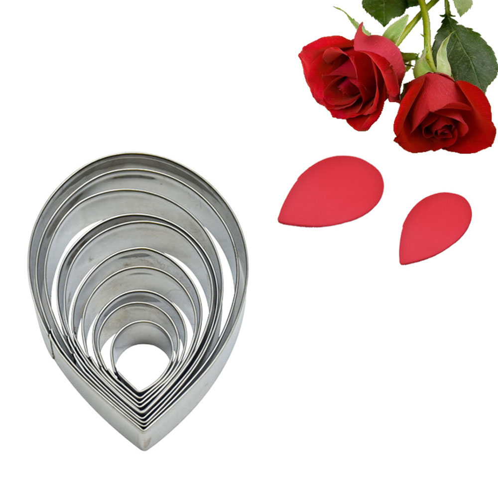 Rose Petal Silicone Veiner