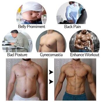 Men Body Shaper Waist Trainer Sauna Suit Sweat Vest Slimming Underwear Weight Loss Shirt Fat Burner Workout Tank Tops Shapewear 2