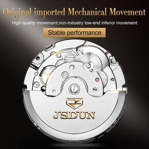 Image 5 - JSDUN montre mécanique étanche pour hommes, montre automatique, lumineuse et étanche, vente en gros, usine de présentation de lannée