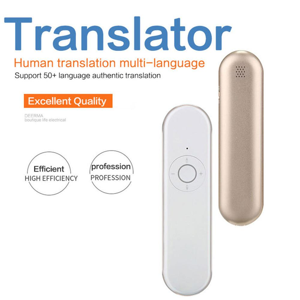 Wholesale T9 Portable Voice Translator WIFI Version Tradutor For Travel Meeting Voice Text Language Translator Dropshipping