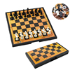 Magnetic Chess Game Set High Quality Foldable Family Table Board Game Pieces with Checkerboard Children Adult Gift Entertainment