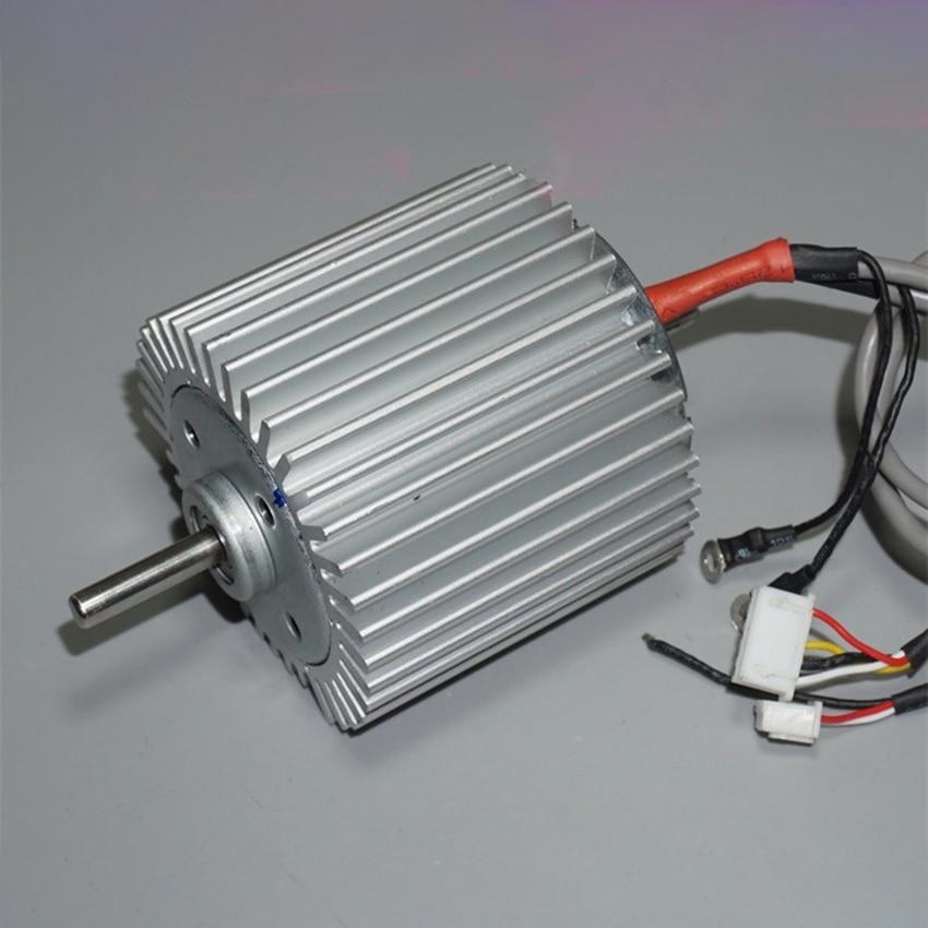 High Torque Brushless Motor With Heat Sink, Ball Bearings DC12-24V Low Speed Silent 775 Brushless Motor 2200-4500rpm 5mm D Shaft
