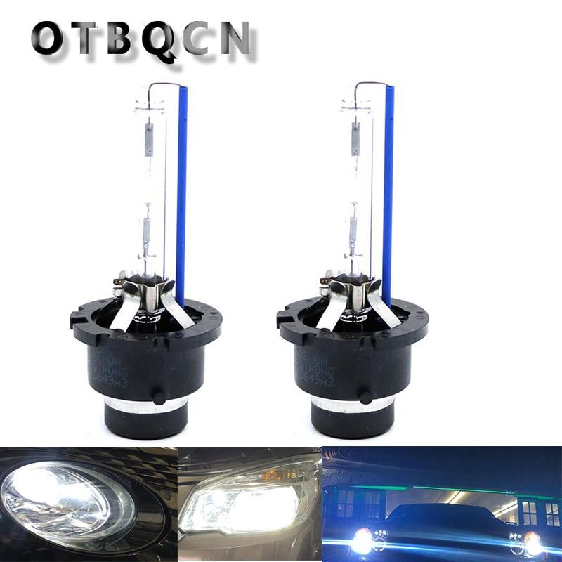 2PCS D2S D2C D2R HID Car Headlight Bulb 4300K 6000K 8000K 12V Auto Fog Lights Lamp 12V HID Kit  Replace Halogen Lamp Bulbs