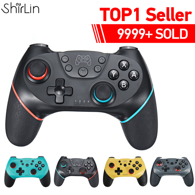 2020 Bluetooth Pro Gamepad for N-Switch NS-Switch NS Switch Console Wireless Gamepad Video Game USB Joystick Controller Control 1