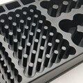 Батарейный тестер коробка Органайзер Пластиковый маленький ящик для инструментов съемный для домашнего использования простая работа для ...