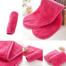 Reusable Microfiber Face Towel Face Towel Natural Antibacterial Protection Makeup Remover Cleansing Face Wash Microfiber Towel
