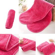 Reusable Microfiber Face Towel Face Towel Natural Antibacterial Protection Makeup Remover Cleansing Face Wash Microfiber Towel(China)