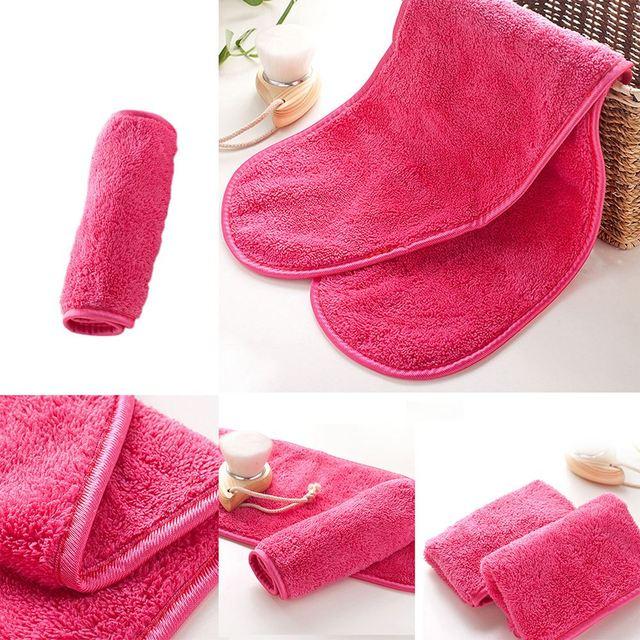 Reusable Microfiber Face Towel Face Towel Natural Antibacterial Protection Makeup Remover Cleansing Face Wash Microfiber Towel